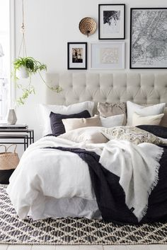 7 Artistic Hacks: Minimalist Bedroom Grey Benches minimalist home declutter simple living.Minimalist Home Declutter Simple Living minimalist bedroom grey lights.Minimalist Home Apartments Living Rooms. Cozy Bedroom, Bedroom Inspo, Dream Bedroom, Home Decor Bedroom, Budget Bedroom, Bedroom Apartment, Bedroom 2018, Bedroom Wall, Bedroom Inspiration