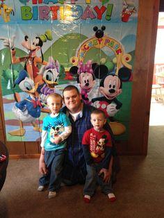 Daddy's boys!