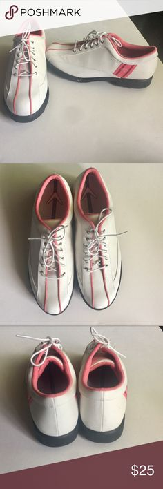 Callaway Women's Pink White Golf Sport Shoe 7.5 Golf shoes. Worn twice. Excellent condition. Size 7.5 Callaway Shoes Athletic Shoes
