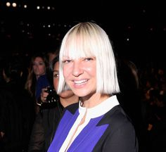 There she is!   11 Pictures Of Sia's Face