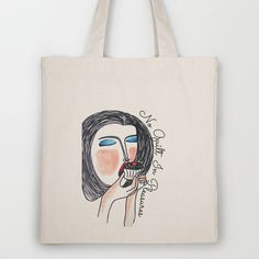 No Guilt in Pleasures Tote Bag