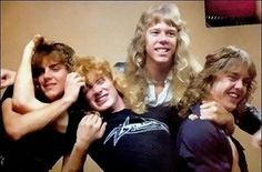 metallica (classic lineup;Ron McGowney,Dave Mustaine,James Hetfield & Lars Ulrich)