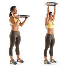 Scorch Mega Calories, Plate workout