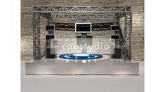 stage virtual tv presentation Virtual Studio, Green Screen Backgrounds, Stage Background, Chroma Key, News Studio, Backdrops, Presentation, Mirror, Tv