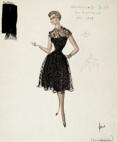 Shirley MacLaine | Edith Head Design in Career, 1959