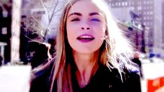 Never change, Cara. | Cara Delevigne Has Been Taking Selfies On The Catwalk