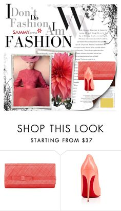 """""""&Sammy Dress&"""" by selmamehic ❤ liked on Polyvore featuring Balenciaga, NIGEL RAYMENT and Christian Louboutin"""
