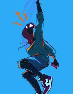 ling 🍅 (@L1NG_) | Twitter Miles Spiderman, Spiderman Poses, Miles Morales Spiderman, Amazing Spiderman, Spider Art, Spider Verse, Character Design Animation, Character Art, Spaider Man