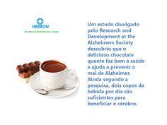 Chocolatte quente contra o mal de Alzheimer.