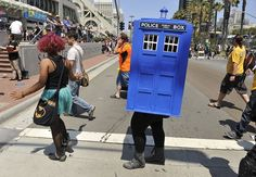Comic Con Costumes 2013  IM GOUNG TO HAVE A BIG BOWL OF NOT AT FREAKING COMIC CON