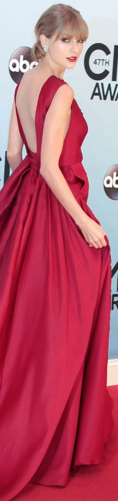 This red coloured gown.... is bae!!