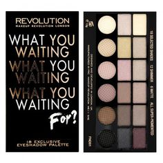 Makeup Revolution Paletka očných tieňov Salvation Palette What You Waiting For