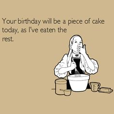 So that's why no one trusts me to sort their birthday cake