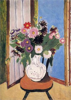 Daisies, 1919			Henri Matisse  I want to find print for bedroom wall