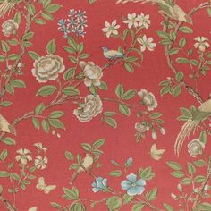 Martha's Furnishing Fabrics, Auckland (Newman Coral)