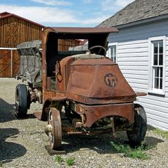 Amazing Rusty Finds - #searchlocated - 1916 Mack AC Truck - photo by Chuck_893