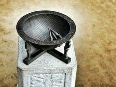 #YJMEMORY 앙부일구라 불리우는 해시계. 수원 화성행궁 내 마당에 있었다.
