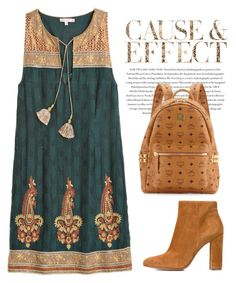 """""""Outfit #540 - Vintage"""" by novemberdelane ❤ liked on Polyvore featuring Calypso St. Barth, Gianvito Rossi, Envi, MCM and vintage"""