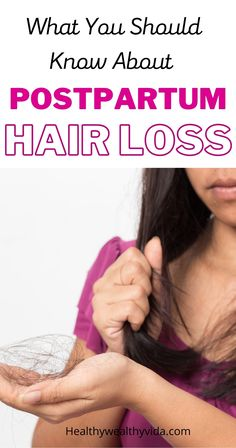 Worried about postpartum hair loss? postpartum hair loss is normal but there are some important things to know about postpartum hair loss. #postpartum #postpartumhairloss #pregnancyandbirth #postpartumtips #postpartumhacks Hair Loss During Pregnancy, Hair Loss After Baby, Baby Hair Loss, Postpartum Hair Loss, Hair Shedding, Hair Loss Women, Hair Loss Remedies, Hair Regrowth, Things To Know
