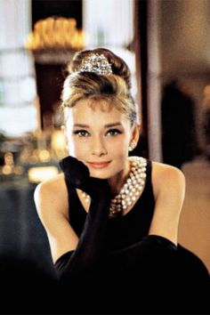 You absolutely can't talk Hollywood glamour without mentioning Audrey Hepburn.