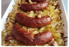 Sausage, Food Porn, Food And Drink, Meals, Cooking, German Recipes, Potato, Food, Healthy Nutrition