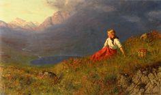 Hans Dahl - The last Rays Of The Sun