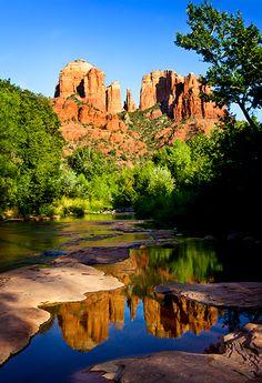 Cathedral Rock, AZ... Love Sedona and the Oak Creek Canyon drive between Flagstaff and Sedona.