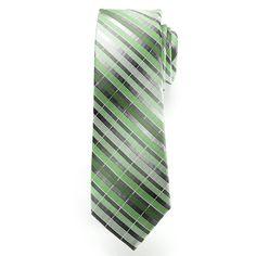 Men's Van Heusen Andres Striped Tie, Green