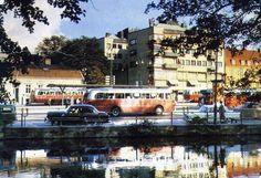 Borås 1960 - Busstorget by mrkgrd, via Flickr