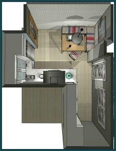 1000 images about planos de cocinas on pinterest small - Planos de cocinas ...