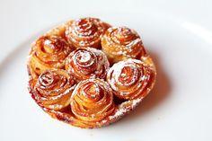 Tarte aux pommes Bouquet de Rose // L'Arpège Restaurant