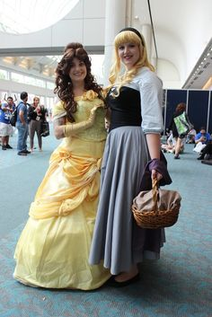 Belle and Aurora make an appearance at Comic-Con
