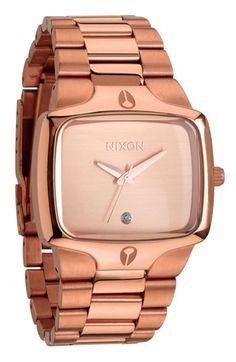 You will be mine. Nixon The Player Bracelet Watch Nordstrom $225