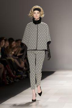 Toronto Fashion Week: Pink Tartan shows retro luxury and fake blond hair for fall 2013 - Gallery | torontolife.com
