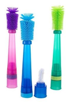 $9 Sassy No Scratch Bottle Brush, Colors May Vary by Sassy, http://www.amazon.com/dp/B003SWZVG0/ref=cm_sw_r_pi_dp_A6jQrb145Z3K2
