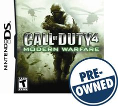 Call of Duty 4: Modern Warfare — PRE-Owned - Nintendo DS