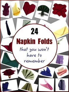 Here at Bright Settings, we love napkins. We sell them, we rent them, we launder… Napkin Origami, Towel Origami, Napkin Folding Video, Folding Napkins, How To Fold Napkins, Paper Napkin Folding, Linen Napkins, Deco Table, Holiday Tables