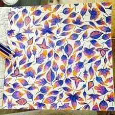 Resultado de imagem para colorindo folhas