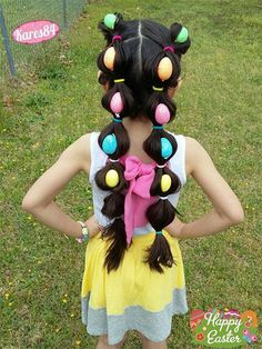 Easter Hairstyle Looks & Ideas For Kids & Girls Easter Hairstyle Looks & Ideas For Kids & Girls disfraces Easter Hairstyle Looks & Ideas For Kids & Girls… Valentine's Day New ideas for hairstyleNice hairstyle ideas for Girls School Hairstyles, Cute Hairstyles For Kids, Baby Girl Hairstyles, Holiday Hairstyles, Cool Hairstyles, Halloween Hairstyles, Hairdos, Crazy Hair For Kids, Crazy Hair Day At School