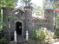Backyard Play Castle