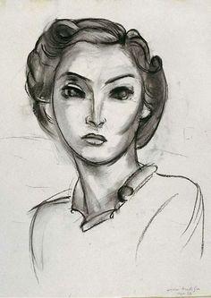 Henri Matisse - Woman's Head, 1936