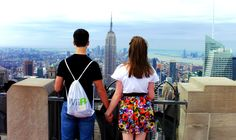 top of the rock - NYC <3