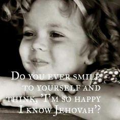 """Lach je wel eens naar jezelf terwijl je denkt """"ik ken Jehovah""""?"""