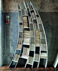 Bookcase - highly impractical, but wonderful all the same.