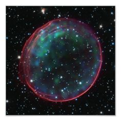 Space Bubble Detail Poster