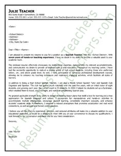 writing a letter in spanish cover letter samplecover - Sample Dancer Cover Letter