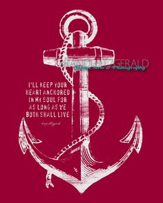 Anchored In Happily Ever After 8 x 10 by BrandiFitzgerald