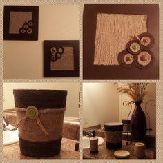 Manualidades decoraci n pintura cuadro para cuarto - Cuadros para cuarto de bano ...