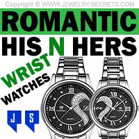 ►► ROMANTIC HIS AND HERS COUPLES WATCHES ►► Jewelry Secrets