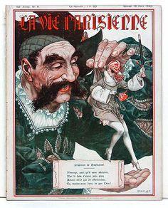 Chéri Hérouard (1881-1961). La Vie Parisienne, 15 Mars 1924. [Pinned 19-iii-2015]